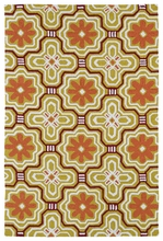 Kaleidoscope Matira Rug in Gold