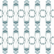 Kaleidoscope Zinc Removable Wallpaper