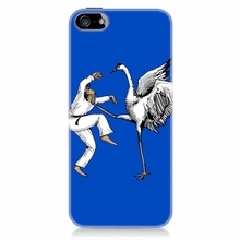 Karate Crane Phone Case