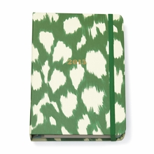 Kate Spade 2015 Painterly Cheetah Ikat Medium Agenda