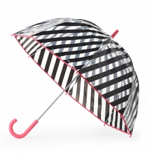 Kate Spade Black Stripe Umbrella