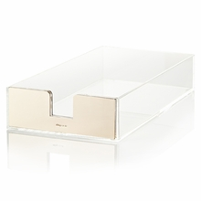 Kate Spade Gold Acrylic Letter Tray