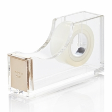 Kate Spade Gold Acrylic Tape Dispenser