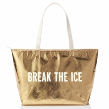 Kate Spade Gold Break the Ice Cooler Bag