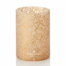 Kate Spade Gold Glitter Drink Cozy