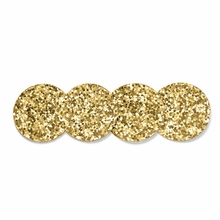 Kate Spade Happy Hour Gold Coaster Set