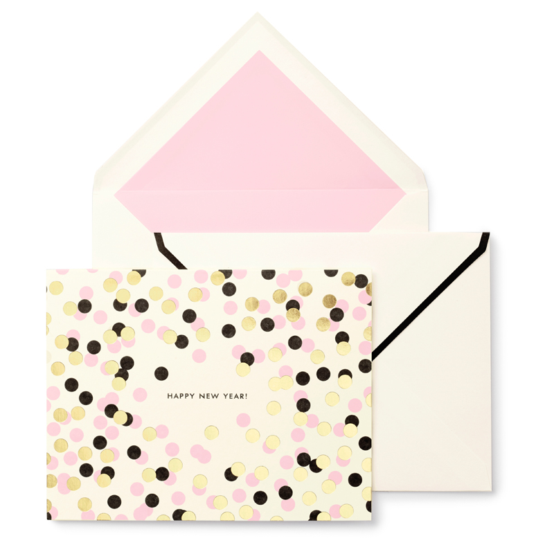 District17: Kate Spade Happy New Year Holiday Cards: Gift Sets