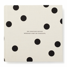 Kate Spade It All Just Clicked Large Deco Dots Photo Album