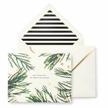 Kate Spade Merry and Bright Holiday Cards