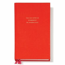Kate Spade Never Overdressed Red Journal