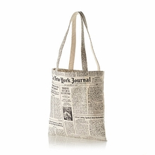 Kate Spade Newsprint Canvas Tote