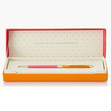 Kate Spade Orange and Pink Ballpoint Pen