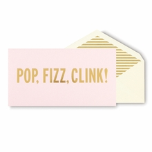 Kate Spade Pop Fizz Clink Holiday Cards