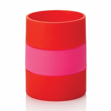 Kate Spade Red and Pink Drink Cozy