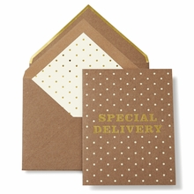 Kate Spade Special Delivery Greeting Card