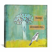 Keep Dreaming Canvas Wall Art