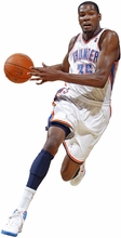 Kevin Durant Fathead Jr. Wall Decal
