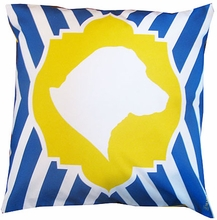 Lab Love Throw Pillow