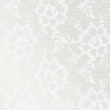 Lace Textured Pearl Removable Wallpaper