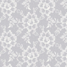 Lace Textured White Chocolate Removable Wallpaper