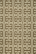 Laguna Greek Key Rug in Taupe