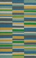 Laguna Mixed Stripes Cool Rug