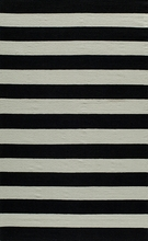 Laguna Stripes Black Rug
