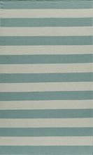 Laguna Stripes Blue Rug
