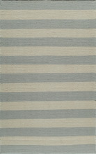 Laguna Stripes Gray Rug