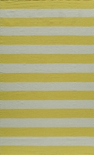 Laguna Stripes Yellow Rug