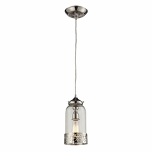 Lake House Pendant In Polished Nickel