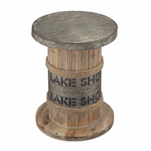 Lake Shore Rustic Stool