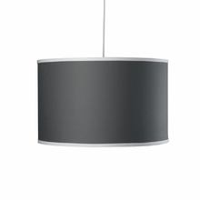 Large Cylinder Pendant Light in Pewter