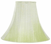 Large Lamp Shade in Modern Green