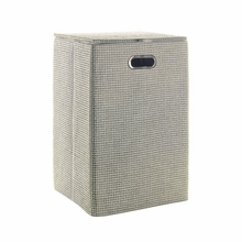 Lavanda Laundry Hamper in Grey