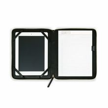 Leather iPad Case in Black