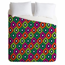Leela Green Lightweight Duvet Cover