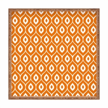Leela Orange Square Tray