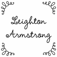 Leighton Personalized Self-Inking Stamp