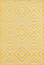 Lemon Diamonds Catalina Rug