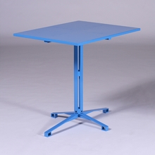 Light Blue Cafe Table