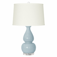 Light Blue Emilia Lamp Base
