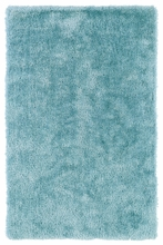 Light Blue Posh Shag Rug