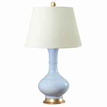 Light Blue Sultan Lamp Base