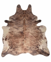 Light Brindle Hide Rug