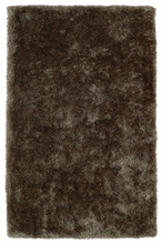 Light Brown Posh Shag Rug