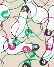 Light Bulbs Canvas Wall Art