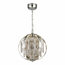 Light Cylinders Led Pendant In Polished Chrome
