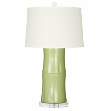 Light Green Kyoto Lamp Base