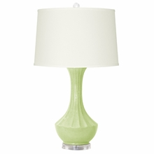 Light Green Tanjila Lamp Base